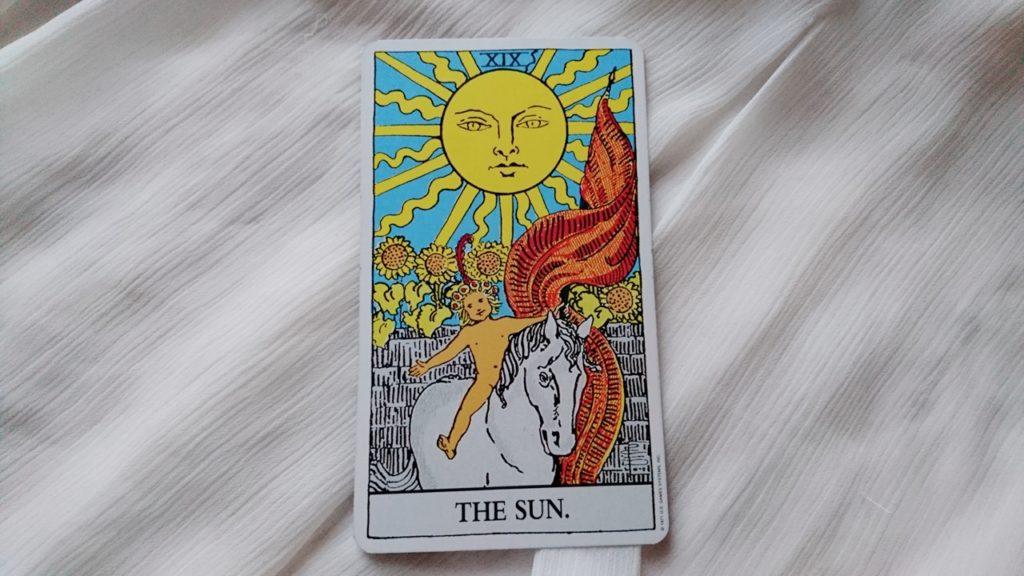 タロット大アルカナ 太陽
