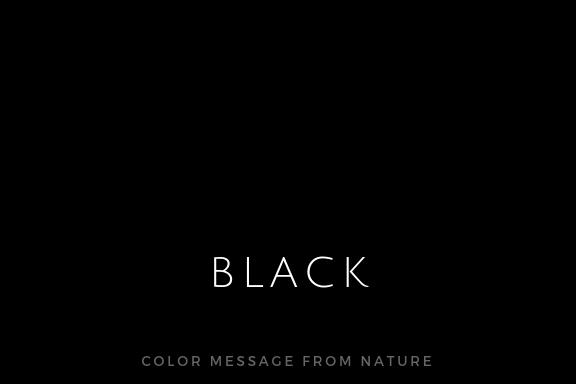 カラー(黒)ブラック