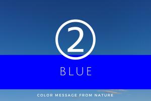 数秘2 ブルー
