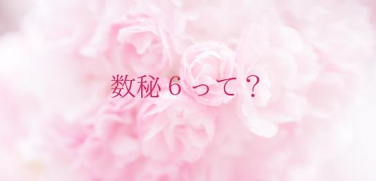 数秘6(ピンク、愛)