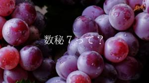 数秘7(バイオレット)